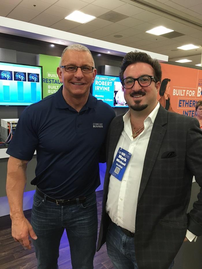 Mark Michael w/ Robert Irvine