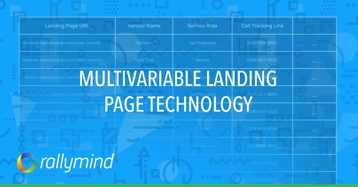 Having More Landing Pages Could be the Solution