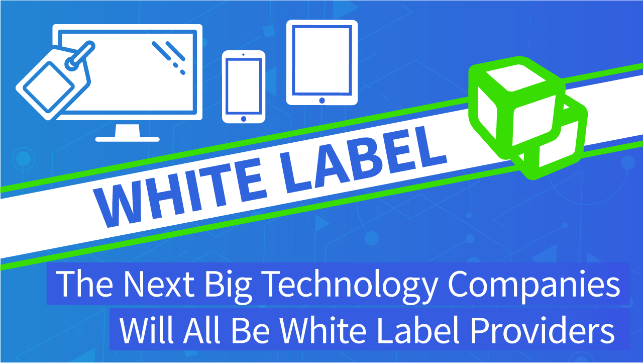 White Label Technology | Next Big Tech Company Will Be White Label Providers | DEVHUB (transcribed)